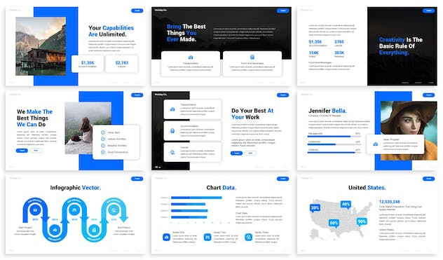 Discover - Advertising Powerpoint Template - product preview 4