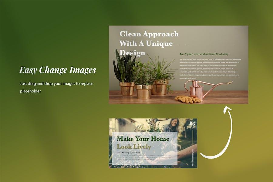 Ellen - Home Gardening Powerpoint Presentation - product preview 5