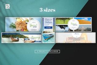 Thumbnail for Travel Banner Pack