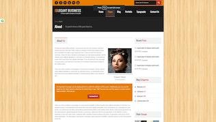Thumbnail for Elegant Business - Responsive HTML