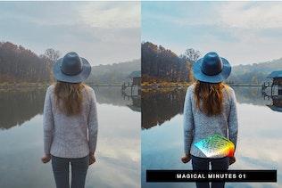 Миниатюра для 50 пресетов LUT для освещения Wanderlust