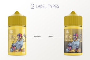 Thumbnail for eLiquid Bottle Mockup v. 75ml-A