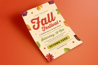 Thumbnail for Fall Festival Flyer