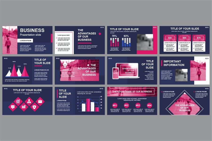 Business Powerpoint Slide Templates - product preview 5
