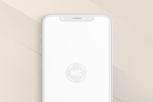 Миниатюра для iPhone X Mockup Clay Version