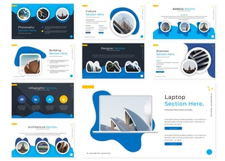 Thumbnail for Arcitech | Google Slides Template