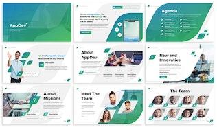Thumbnail for AppDev - Developer Powerpoint Template