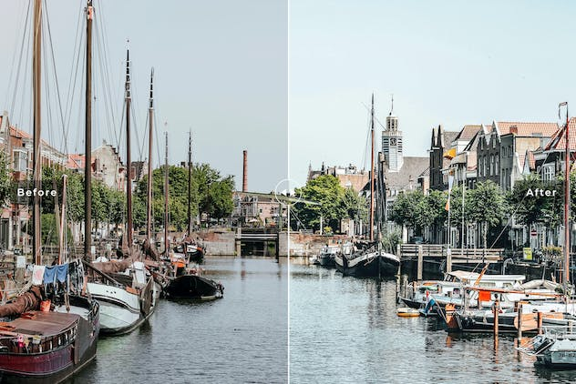 Rotterdam Mobile & Desktop Lightroom Presets - product preview 3