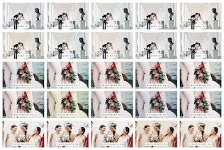 Thumbnail for 50 Wedding Lightroom Mobile & Desktop Presets