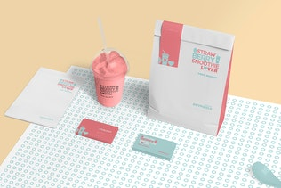 Thumbnail for Transparent Plastic Ice Cream Cup Mockups