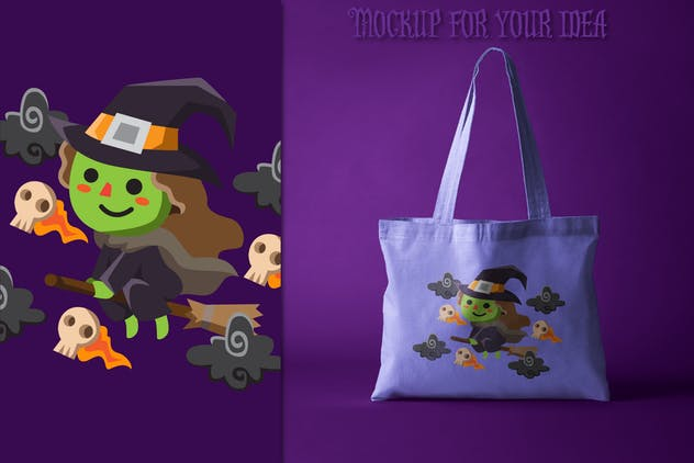 60 Halloween Cute Characters - product preview 2