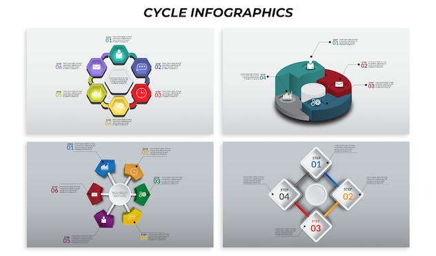Cycle – Infographics Design - product preview 1