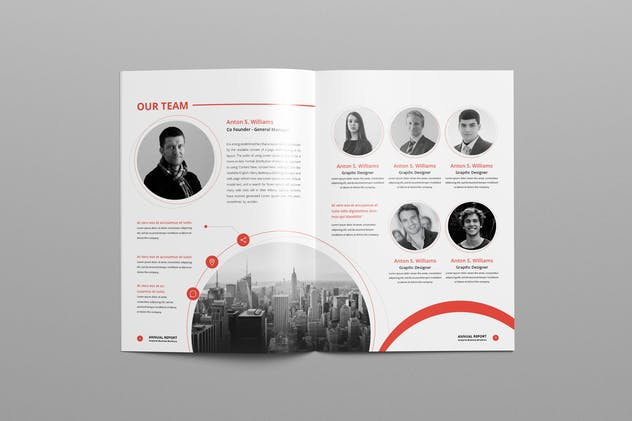 Annual Report A4 & Us Letter - product preview 5
