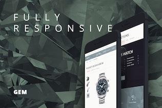 Gem — Luxury eCommerce Responsive WordPress Theme