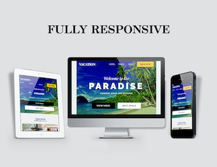 Thumbnail for Vacation E-Newsletter Template