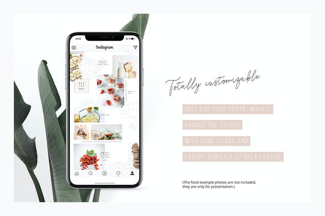 Peony Instagram Puzzle Template + 11 Photos - product preview 5