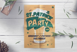Thumbnail for St.Patrick Celebration Flyer