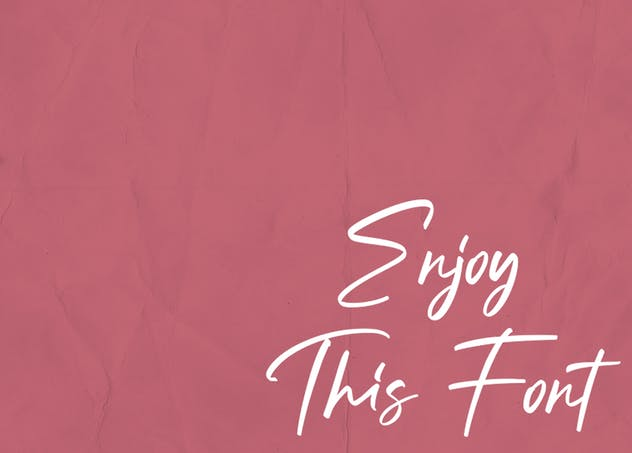 Sunday Gang | Handwritten Font - product preview 9