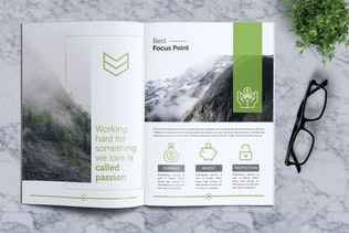 Thumbnail for Creative Brochure Template Vol. 16