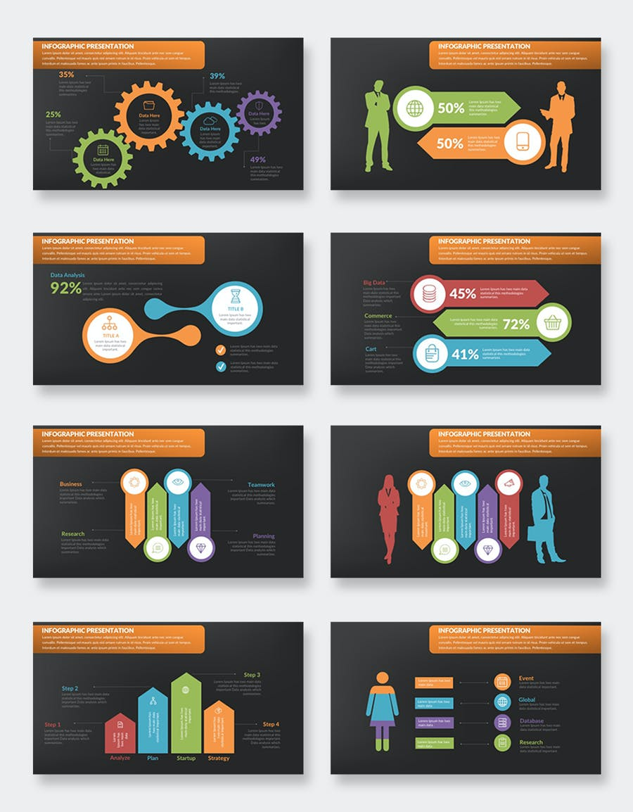 Infographics Keynote Presentation - product preview 9