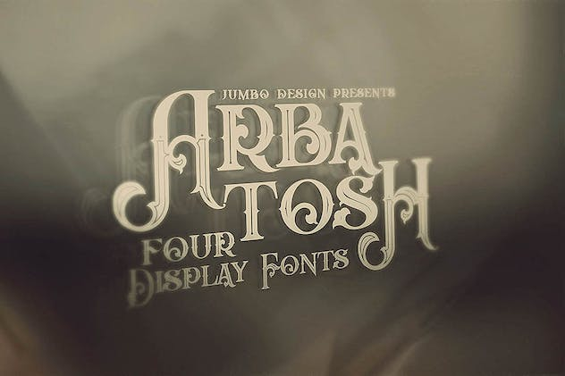 Arbatosh - Display Font - product preview 5