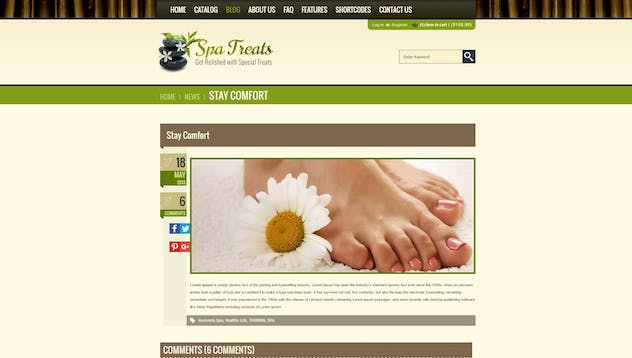 Spa Treats  - Yoga and salon Shopify Theme - product preview 5