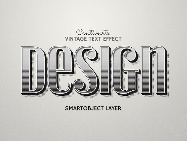 Vintage Retro Text Effects - product preview 5