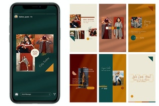 Thumbnail for Fashion Store Instagram Posts Stories