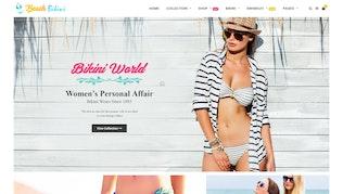 Bikini Plage - Lingerie, Bikini Shopify Thème