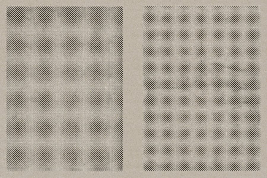 Halftone Vector Paper Textures - product preview 6