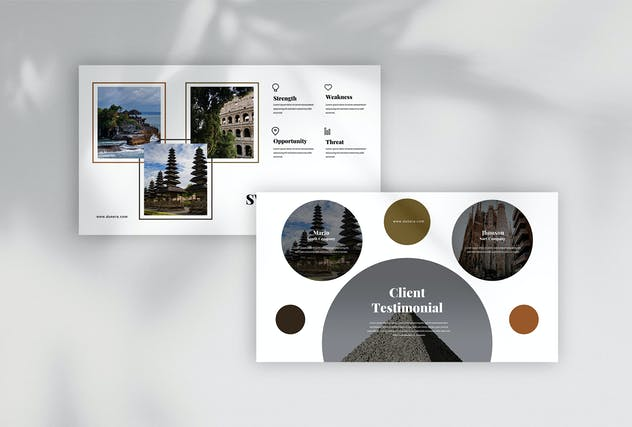 Dunera - Museum Google Slides Template - product preview 2