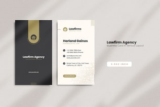 Lawyer Business Card
