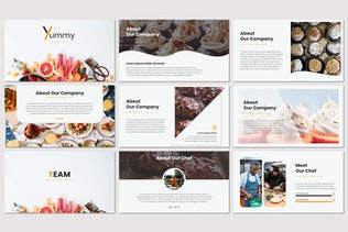 Thumbnail for Yummy - Google Slides Template