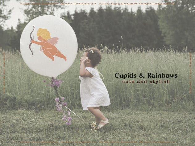 Cupids & Cute Rainbows - product preview 5