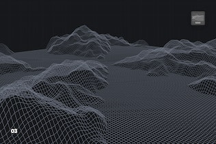 Thumbnail for Grid Mountains Photoshop Brushes