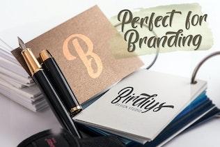 Miniatura para Brogads - Bold Script Retro Font