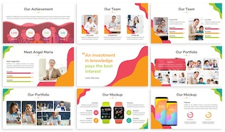 Thumbnail for Kids Zone - Playful Keynote Template