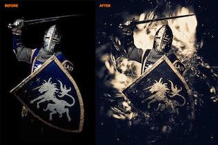 Миниатюра для Аннотация 2 Photoshop Действие
