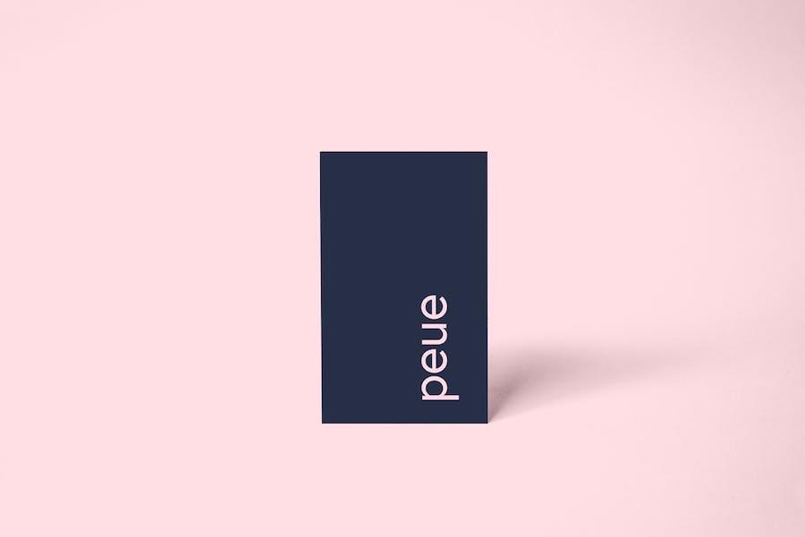Preview image 8 for Peue - Реалистичный макап для визитных карточек