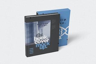 Thumbnail für Buchumschlag & Slide Case Mock-ups