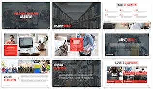 Thumbnail for Reshe - Modernist Google Slides Template