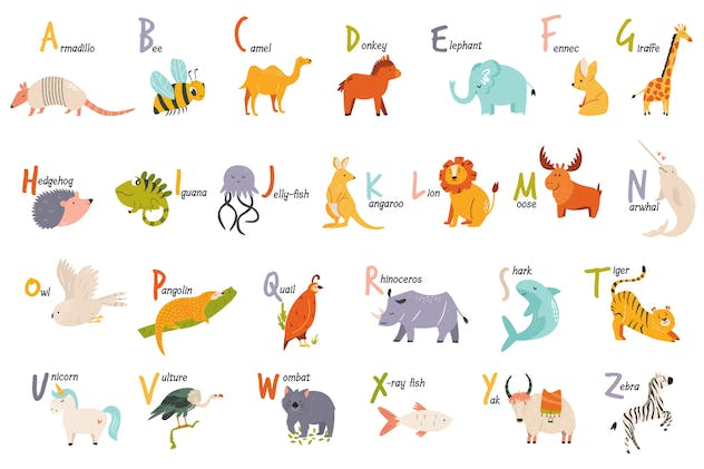 Alphabet Animals for Little Ones - product preview 4
