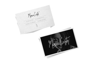 Thumbnail for Portia-Mora Handwritten Luxury / Signature Font