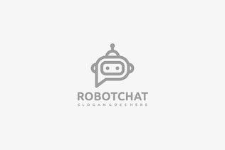 Thumbnail for Robot Chat Logo