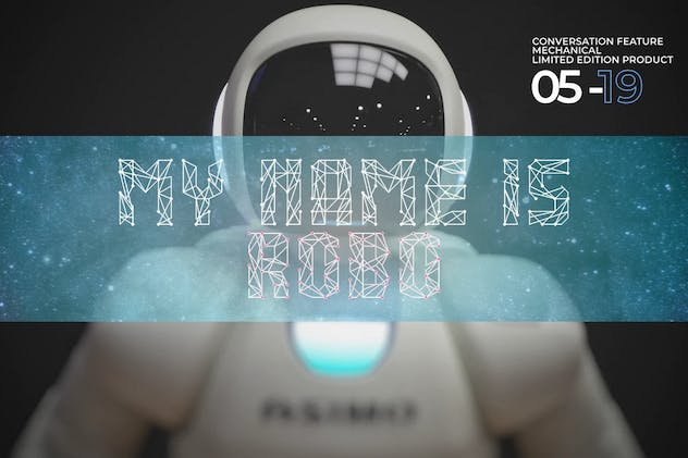 Networld - Futuristic Display Font - product preview 3