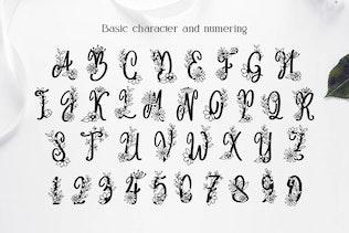 Angelina Monogram Font