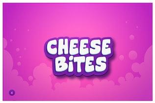 Миниатюра для Эффекты текста с Логотип игры для Illustrator