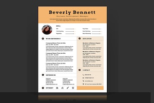 Thumbnail for Resume / CV Template Pro