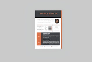 Thumbnail for Event Project Resume Designer