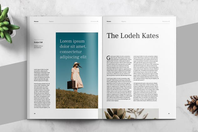 MATAMU - Clean and Minimalist Magazine Template - product preview 11